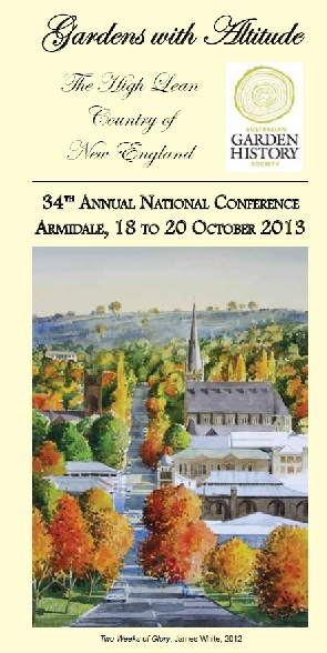 2013 Annual National Conference – Armidale