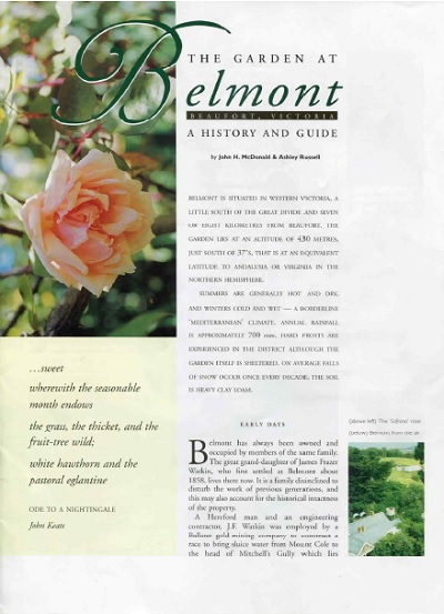 Belmont cover