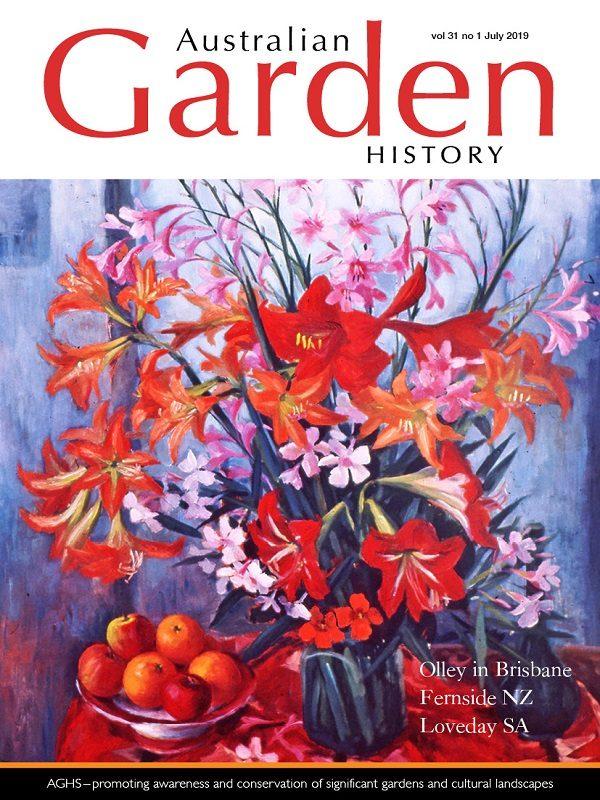 Australian Garden History Vol. 31 No. 1 July 2019