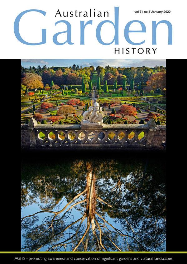 Australian Garden History Vol. 31 No. 3 January 2020